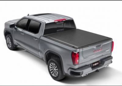 Exterior Accessories - Tonneau Cover - Truxedo - 2020-2021 SIlverado/Sierra 2500/3500 Short Bed Truxedo Lo Pro | Truxedo 572801