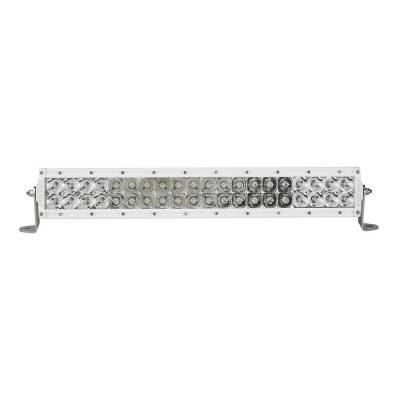 Auxiliary Lighting - 20 Inch Light Bars - Rigid Industries - 20 Inch Spot/Flood Combo Light White Housing E-Series Pro RIGID Industries