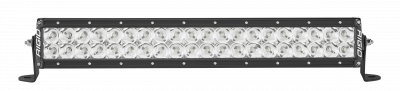 Auxiliary Lighting - 20 Inch Light Bars - Rigid Industries - 20 Inch Flood Light Black Housing E-Series Pro RIGID Industries