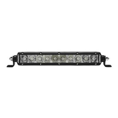 Auxiliary Lighting - 10 Inch Light Bars - Rigid Industries - 10 Inch E-Mark Spot SR-Series Pro RIGID Industries
