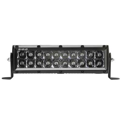 Auxiliary Lighting - 10 Inch Light Bars - Rigid Industries - 10 Inch Spot Midnight E-Series Pro RIGID Industries