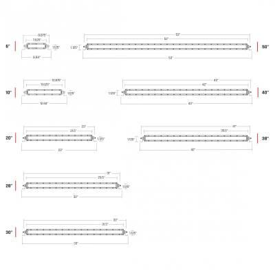 10 Inch Diffused SR-Series Pro RIGID Industries