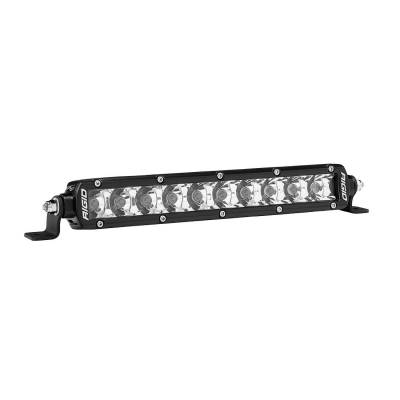 Auxiliary Lighting - 10 Inch Light Bars - Rigid Industries - SR-Series 10 Inch Spot Amber SR-Series Pro RIGID Industries