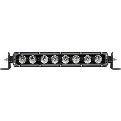 Auxiliary Lighting - 10 Inch Light Bars - Rigid Industries - Radiance Plus SR-Series LED Light 8 Option RGBW Backlight 10 Inch RIGID