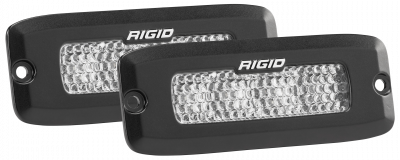 Auxiliary Lighting - Back Up Lights - Rigid Industries - Flood Diffused Backup Flush Mount Kit SR-Q Pro RIGID Industries