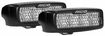 Auxiliary Lighting - Back Up Lights - Rigid Industries - Flood Diffused Backup Surface Mount Kit SR-Q Pro RIGID Industries