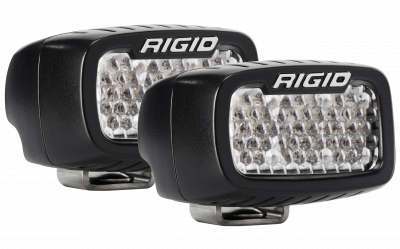 Auxiliary Lighting - Back Up Lights - Rigid Industries - Flood/Diffused Backup Surface Mount Kit SR-M Pro RIGID Industries