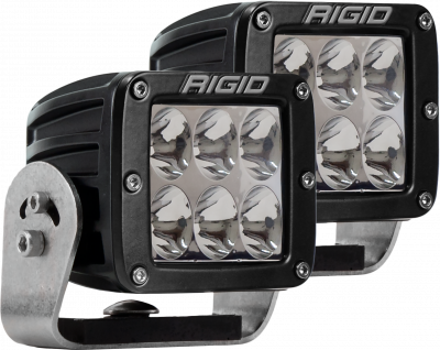 Auxiliary Lighting - LED Light Pods - Rigid Industries - Heavy Duty Driving Pair D-Series Pro RIGID Industries