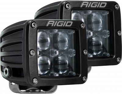Auxiliary Lighting - LED Light Pods - Rigid Industries - Hyperspot Surface Mount Pair D-Series Pro RIGID Industries