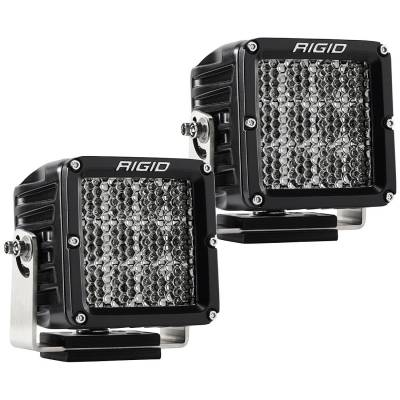Auxiliary Lighting - LED Light Pods - Rigid Industries - Specter/Diffused Light Pair D-XL Pro RIGID Industries