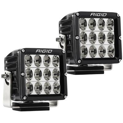Auxiliary Lighting - LED Light Pods - Rigid Industries - Driving Light Pair D-XL Pro RIGID Industries