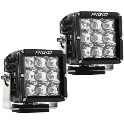 Auxiliary Lighting - LED Light Pods - Rigid Industries - Spot Light Pair D-XL Pro RIGID Industries