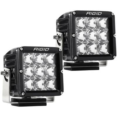 Auxiliary Lighting - LED Light Pods - Rigid Industries - Flood Light Pair D-XL Pro RIGID Industries