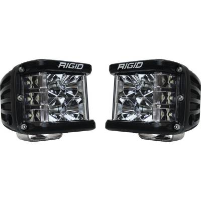 Auxiliary Lighting - LED Light Pods - Rigid Industries - Flood Surface Mount Pair D-SS Pro RIGID Industries