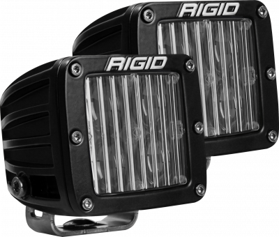 Auxiliary Lighting - SAE Compliant Lights - Rigid Industries - SAE Fog Light Pair D-Series Pro RIGID Industries