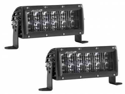 Auxiliary Lighting - SAE Compliant Lights - Rigid Industries - 6 Inch Driving Light SAE Compliant E-Series Pro RIGID Industries