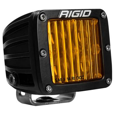 Rigid Industries - SAE J583 Compliant Selective Yellow Fog Light Pair D-Series Pro Street Legal Surface Mount Rigid Industries - Image 2