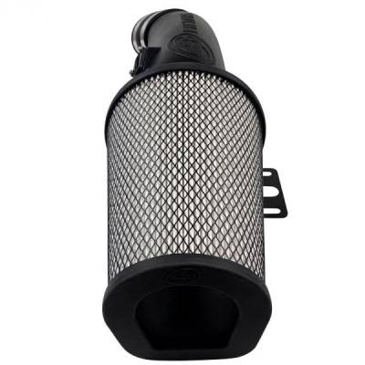 Open Air Intake Dry Cleanable Filter For 17-19 Ford F250 / F350 V8-6.7L Powerstroke S&B - dieselpros.com