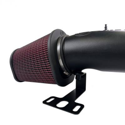 Open Air Intake Cotton Cleanable Filter For 17-19 Ford F250 / F350 V8-6.7L Powerstroke S&B -dieselpros.com