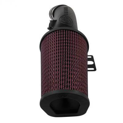 Open Air Intake Cotton Cleanable Filter For 11-16 Ford F250 / F350 V8-6.7L Powerstroke S&B - dieselpros.com