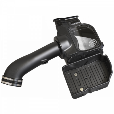 S&B Products - Cold Air Intake For 17-19 Ford F250 F350 V8-6.7L Powerstroke Dry Extendable White S&B - Image 3