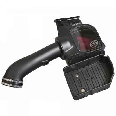 S&B Products - Cold Air Intake For 17-19 Ford F250 F350 V8-6.7L Powerstroke Cotton Cleanable Red S&B - Image 2