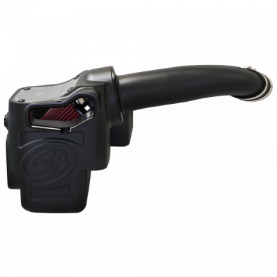 S&B Products - Cold Air Intake For 17-19 Ford F250 F350 V8-6.7L Powerstroke Cotton Cleanable Red S&B - Image 3