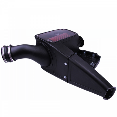 S&B Products - Cold Air Intake For 98-03 Ford F250 F350 F450 F550 V8-7.3L Powerstroke Cotton Cleanable Red S&B - Image 2