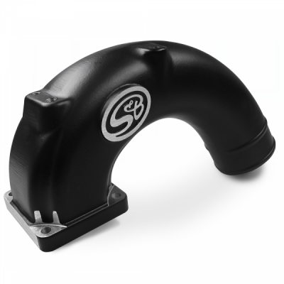S&B Products - Intake Elbow 180 Degree For 03-07 Dodge Ram 2500 3500 5.9L Diesel S&B