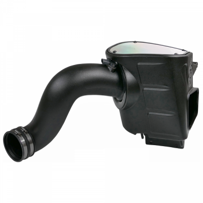 Cold Air Intake For 03-07 Dodge Ram 2500 3500 5.9L Cummins Dry Extendable White S&B - dieselpros.com