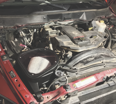 Cold Air Intake For 07-09 Dodge Ram 2500 3500 4500 5500 6.7L Cummins Dry Extendable White S&B - dieselpros.com