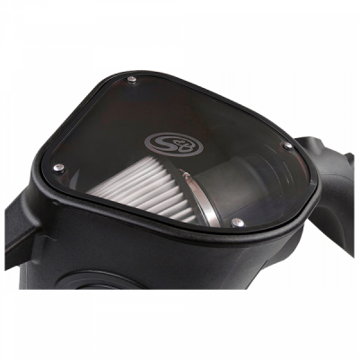 S&B Products - Cold Air Intake For 10-12 Dodge Ram 2500 3500 6.7L Cummins Dry Extendable White S&B - Image 4