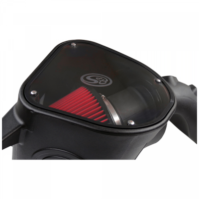 S&B Products - Cold Air Intake For 10-12 Dodge Ram 2500 3500 6.7L Cummins Cotton Cleanable Red S&B - Image 7