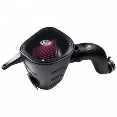 S&B Products - Cold Air Intake For 13-18 Dodge Ram 2500 3500 L6-6.7L Cummins Cotton Cleanable Red S&B