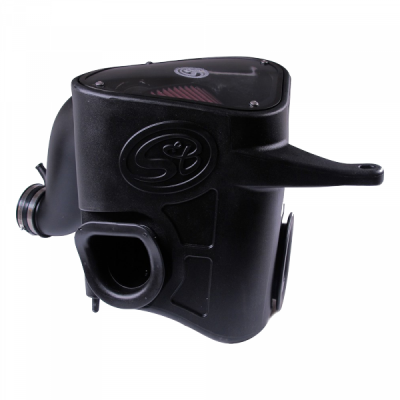 Cold Air Intake For 13-18 Dodge Ram 2500 3500 L6-6.7L Cummins Cotton Cleanable Red S&B - dieselpros.com