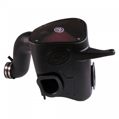Cold Air Intake For 13-18 Dodge Ram 2500 3500 L6-6.7L Cummins Cotton Cleanable Red S&B - dieselpros.comCold Air Intake For 13-18 Dodge Ram 2500 3500 L6-6.7L Cummins Cotton Cleanable Red S&B - dieselpros.com