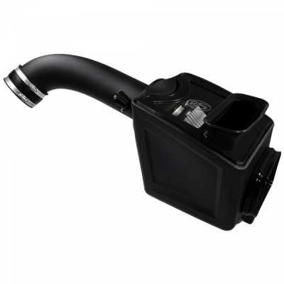S&B Products - Cold Air Intake For 17-19 Chevrolet Silverado GMC Sierra V8-6.6L L5P Duramax Dry Extendable White S&B - Image 2