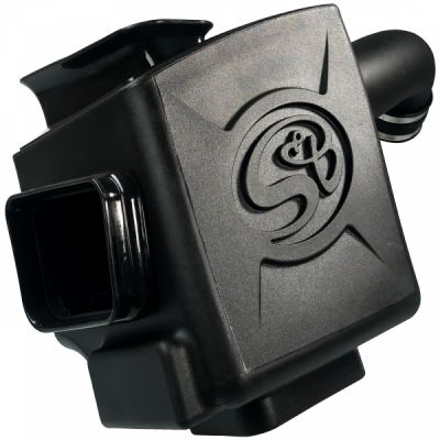 S&B Products - Cold Air Intake For 17-19 Chevrolet Silverado GMC Sierra V8-6.6L L5P Duramax Dry Extendable White S&B - Image 3