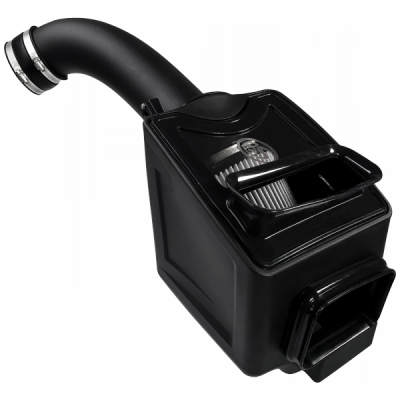S&B Products - Cold Air Intake For 17-19 Chevrolet Silverado GMC Sierra V8-6.6L L5P Duramax Dry Extendable White S&B - Image 4