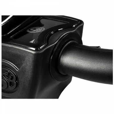 S&B Products - Cold Air Intake For 17-19 Chevrolet Silverado GMC Sierra V8-6.6L L5P Duramax Dry Extendable White S&B - Image 7