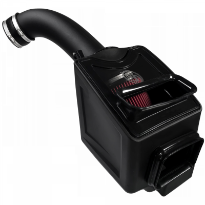 S&B Products - Cold Air Intake For 17-19 Chevrolet Silverado GMC Sierra V8-6.6L L5P Duramax Cotton Cleanable Red S&B - Image 2