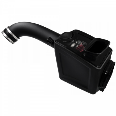 S&B Products - Cold Air Intake For 17-19 Chevrolet Silverado GMC Sierra V8-6.6L L5P Duramax Cotton Cleanable Red S&B - Image 4