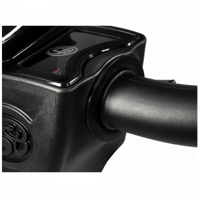 S&B Products - Cold Air Intake For 17-19 Chevrolet Silverado GMC Sierra V8-6.6L L5P Duramax Cotton Cleanable Red S&B - Image 7