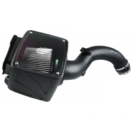 S&B Products - Cold Air Intake For 04-05 Chevrolet Silverado GMC Sierra V8-6.6L LLY Duramax Dry Extendable White S&B