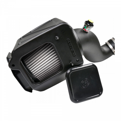 S&B Products - Cold Air Intake For 07-10 Chevrolet Silverado GMC Sierra V8-6.6L LMM Duramax Dry Extendable White S&B - Image 3