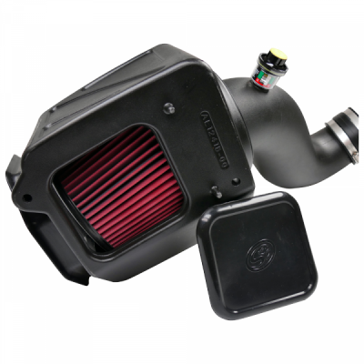 S&B Products - Cold Air Intake For 07-10 Chevrolet Silverado GMC Sierra V8-6.6L LMM Duramax Cotton Cleanable Red S&B - Image 6