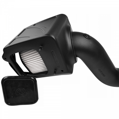 S&B Products - Cold Air Intake For 06-07 Chevrolet Silverado GMC Sierra V8-6.6L LLY-LBZ Duramax Dry Extendable White S&B - Image 2