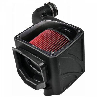 S&B Products - Cold Air Intake For 06-07 Chevrolet Silverado GMC Sierra V8-6.6L LLY-LBZ Duramax Cotton Cleanable Red S&B - Image 3