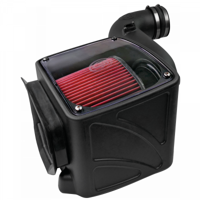 S&B Products - Cold Air Intake For 06-07 Chevrolet Silverado GMC Sierra V8-6.6L LLY-LBZ Duramax Cotton Cleanable Red S&B - Image 5