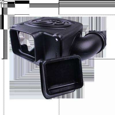 S&B Products - Cold Air Intake For 11-16 Chevrolet Silverado GMC Sierra V8-6.6L LML Duramax Dry Extendable White S&B - Image 2